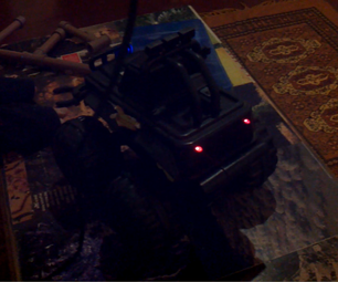 Vibrating Toy Car