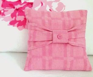 Mini Bow Cushion