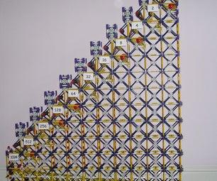 K'Nex Binary Calculating Machine