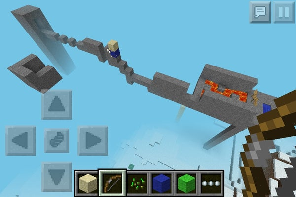 Minecraft PE Awesome Obstacle Course