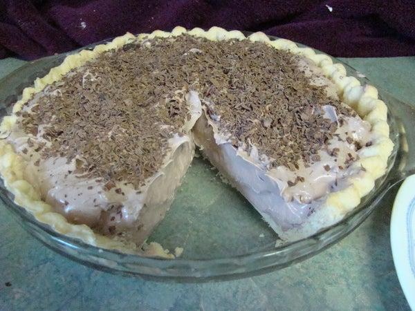 Mom's Chocolate Cream Pie