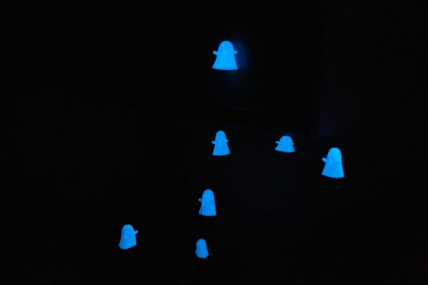 How to Make a Musical, Motorized Glow-in-the-dark-ghost Mobile