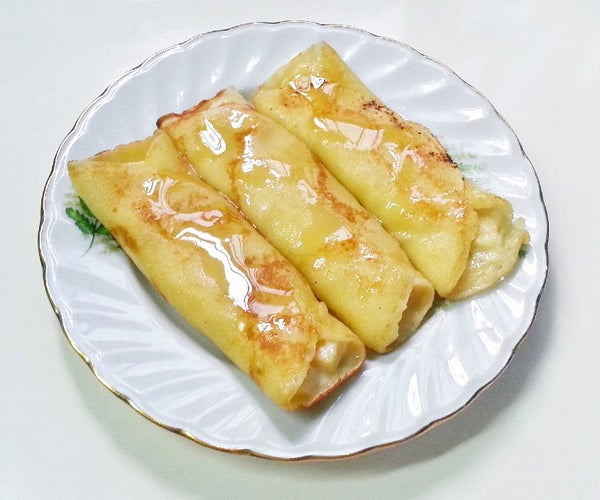 Apple Patishapta (Dessert)