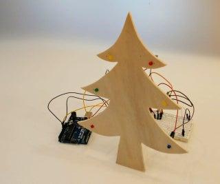 Arduino Music and Lights Christmas Tree