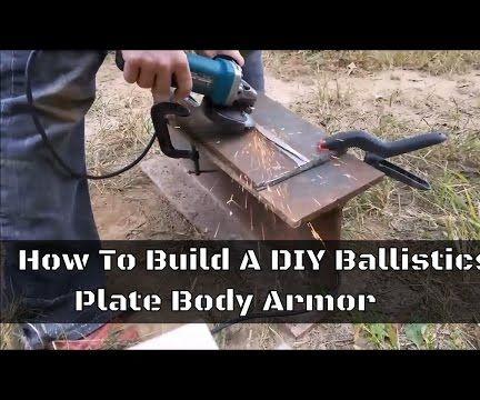 Making DIY Ballistic Plate Body Armor