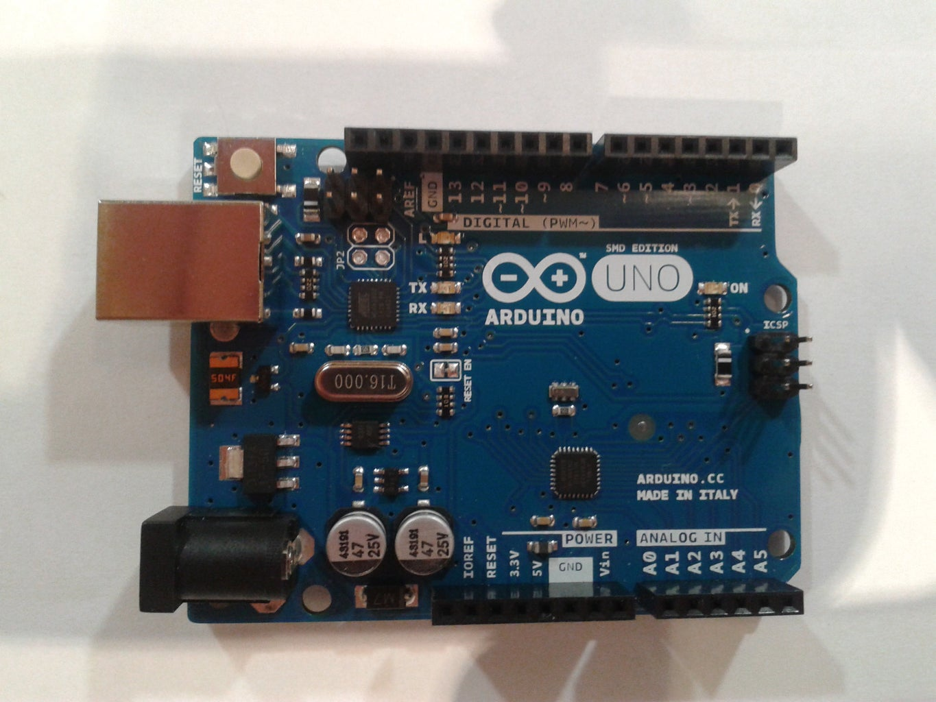 Connect Everything Together: Arduino Version
