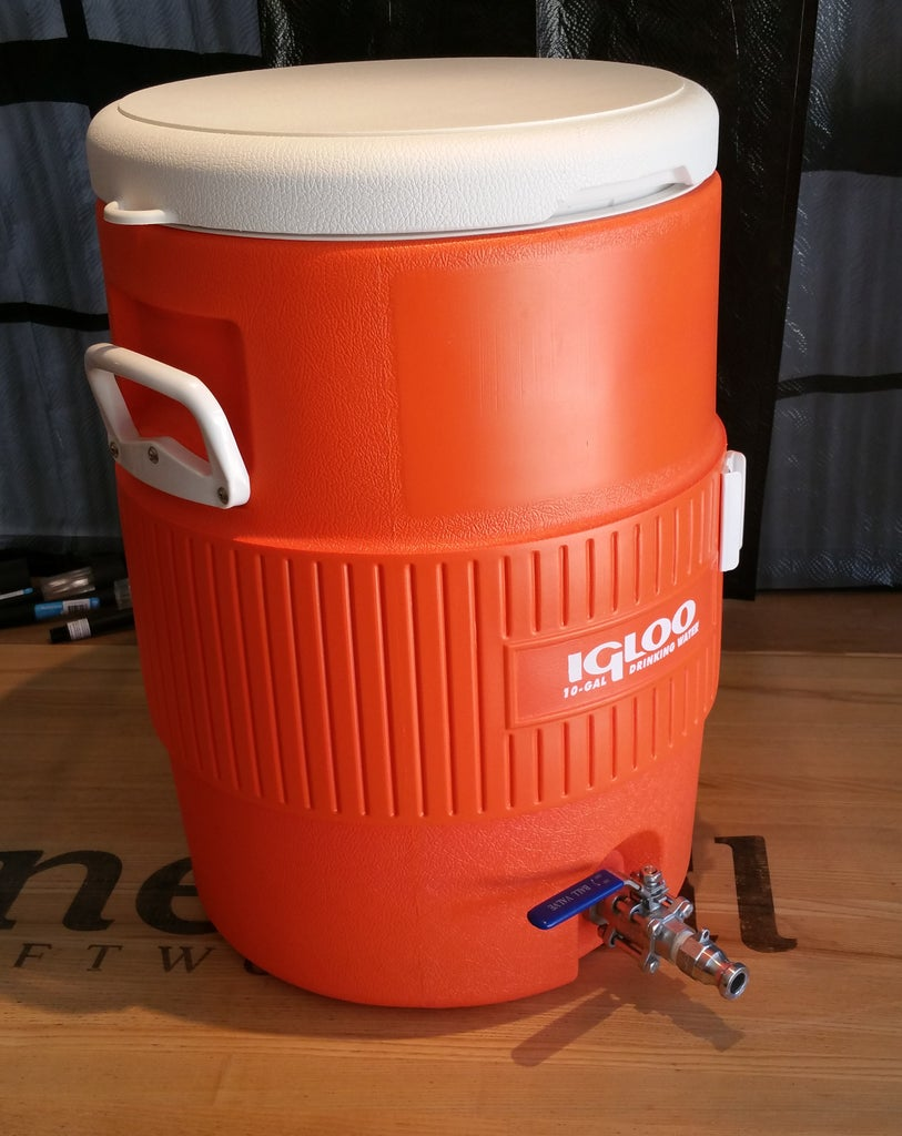 How to Make a Mash Tun for Brewing All-grain Beer