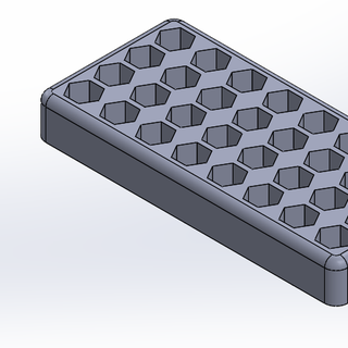 3D Printed Hex Bit Holder