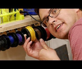 Ultimate Wire Spool Hanger With Removable Spools