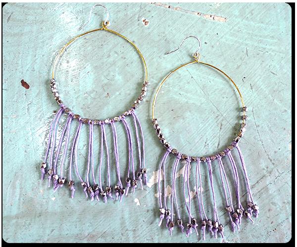 Tulum Beach Fringe Earring