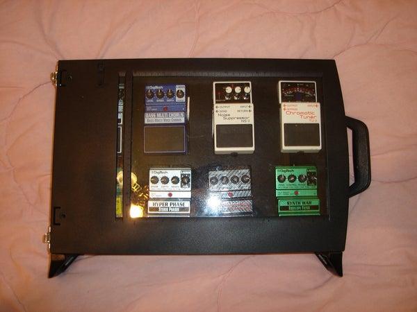 Scanner Pedal Board