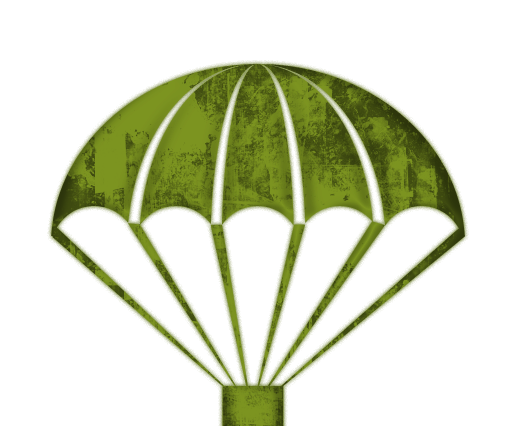 Parachute dropper