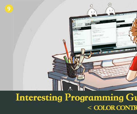 Interesting Processing Programming Guidance for Designer--Color Control