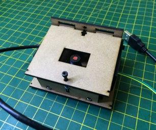 Microscópio WebCam - Garagem FABLAB - Biohackacademy