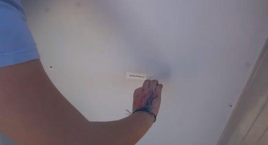 Install the Ceiling Hooks.