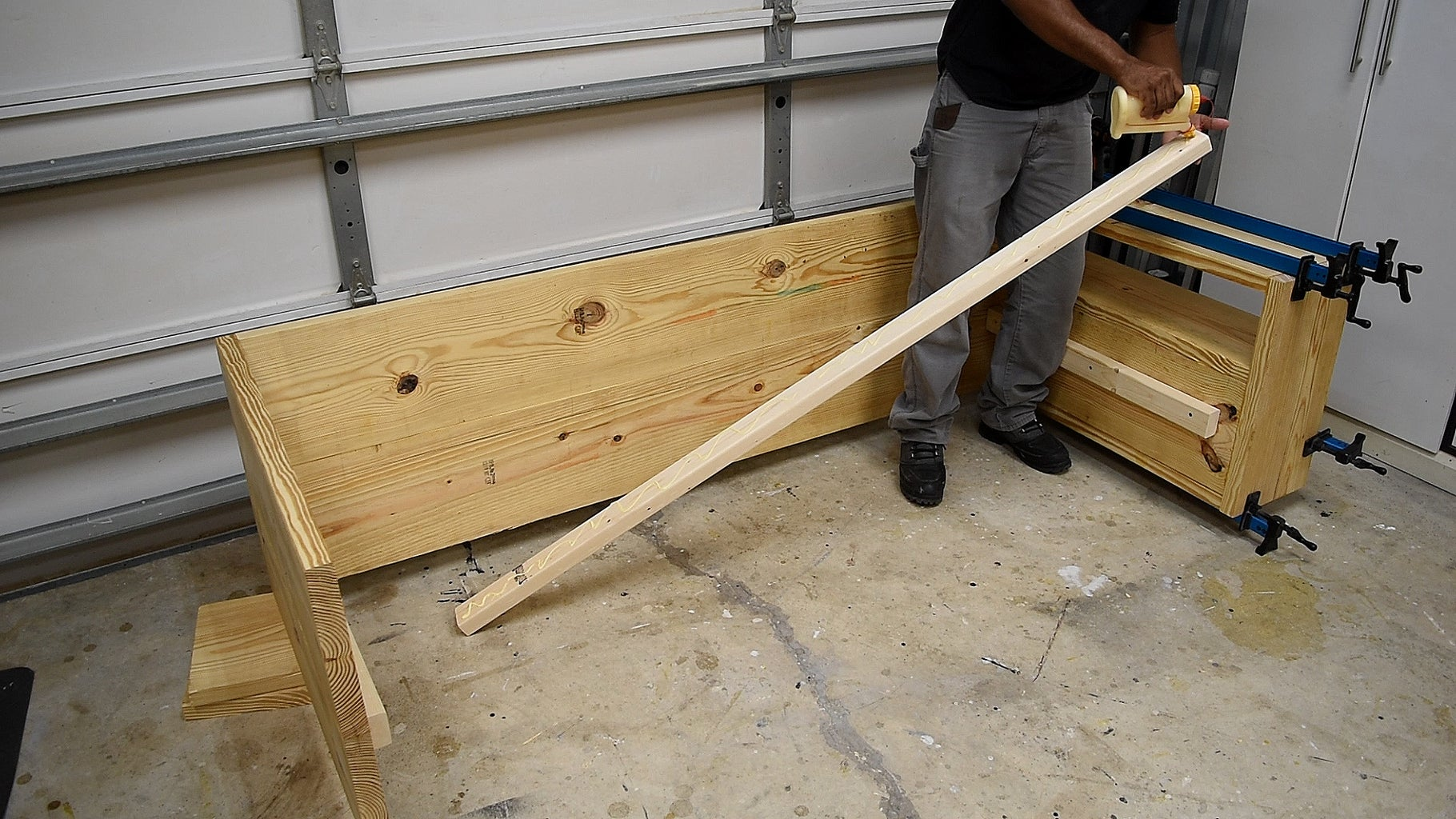 Building the Frame for the Seat