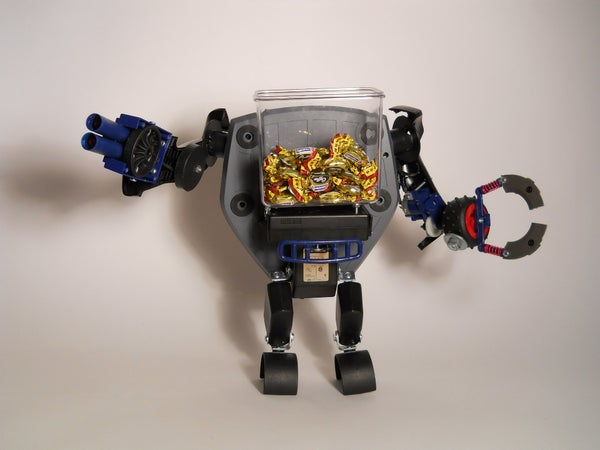 Make a Candy Bowl Robot (using a Joystick)