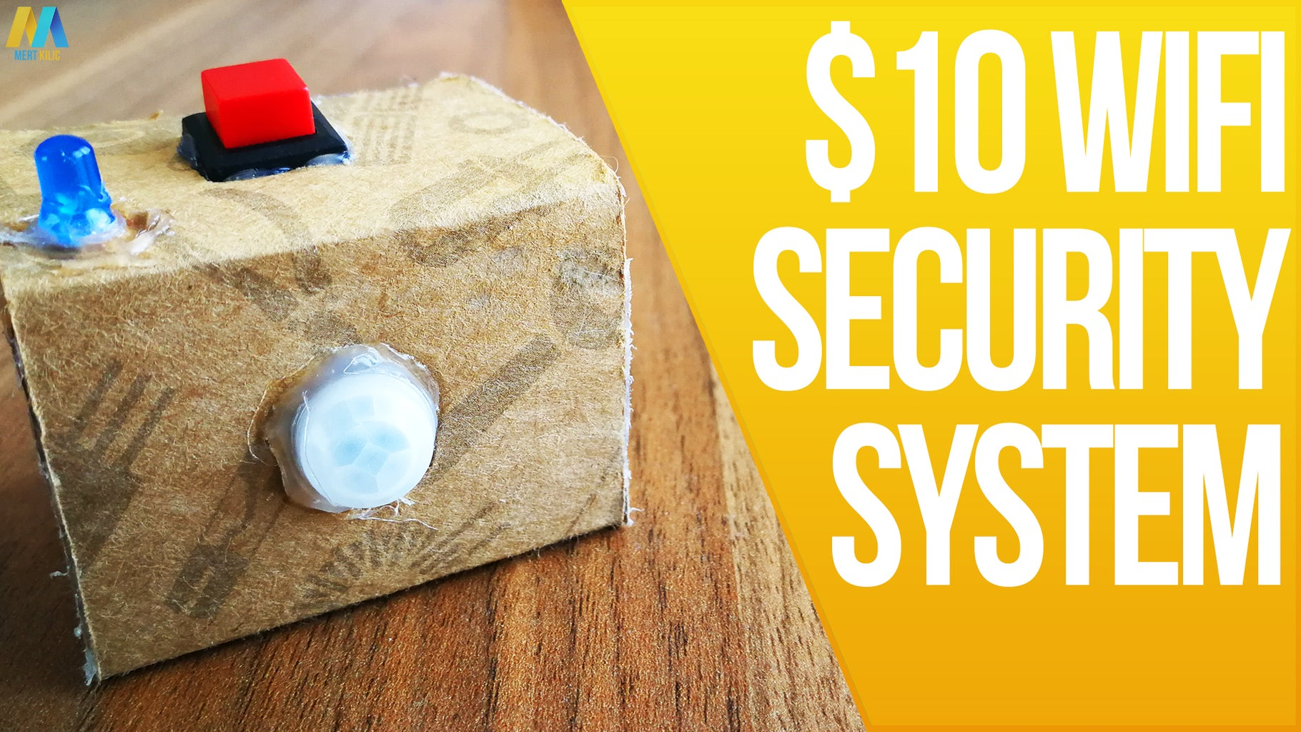How to Make a $10 WiFi Security System at Home? No Fees and Works Anywhere!