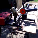 Angle Grinder Wood Lathe, 65$ Cost