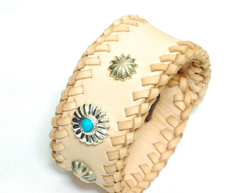 Leather Lacing Bracelet
