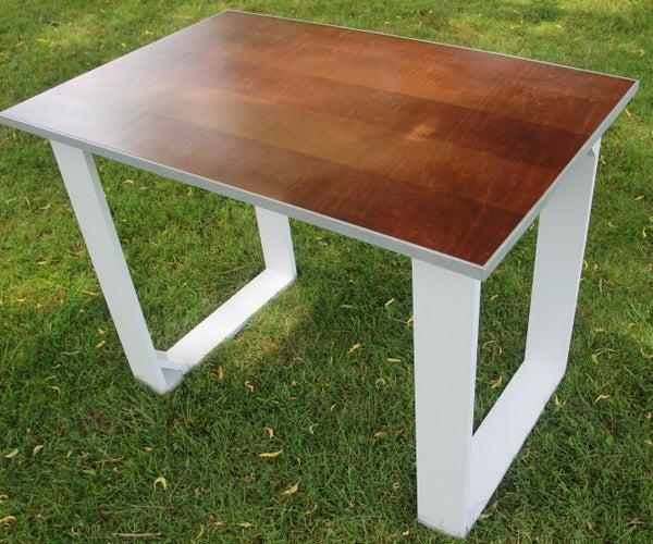 DIY Simple Modern Desk