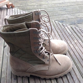 How to Break in Leather Military Boots