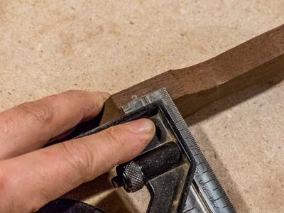 Marking and Drilling the Holes