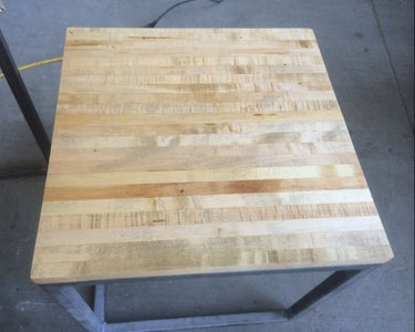 Table Top - Applying Finish (sort Of)