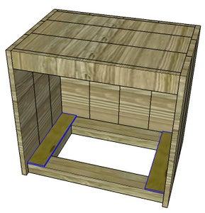 Glue Plywood Pieces