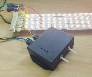 LED Panel With a Dimmer
