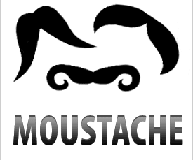The Weekly Challenge: Mustaches