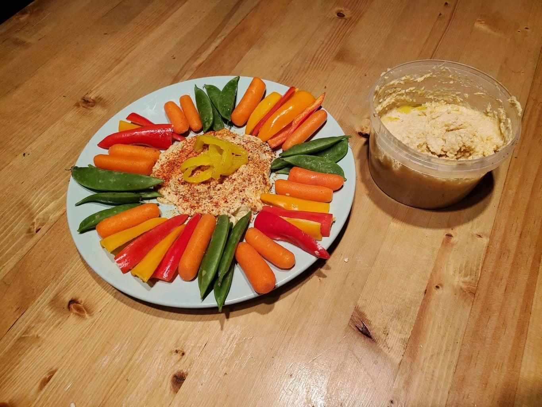 Create the Hummus!