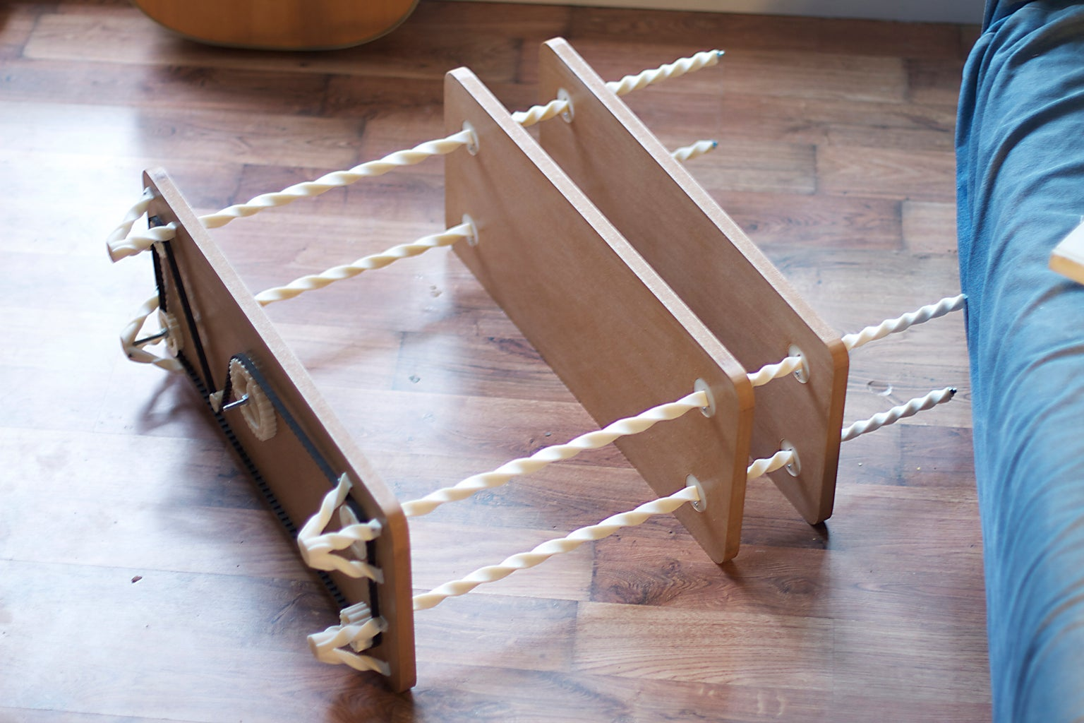 Helical Shelf System