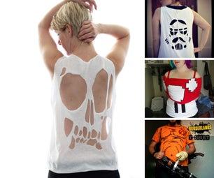 T-Shirt Halloween Costumes