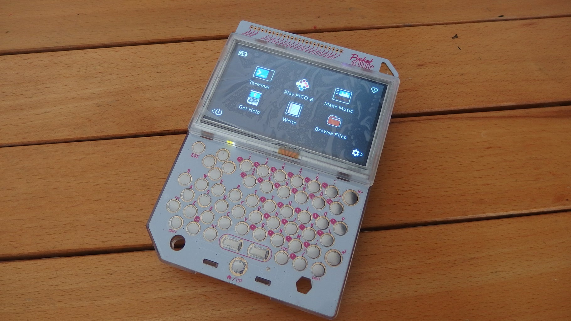 The Applications of Pocket CHIP...for Now