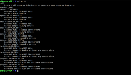 List the New ALSA Virtual Device