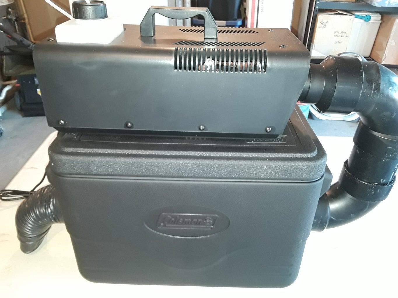 Test the Fog Machine Cooler