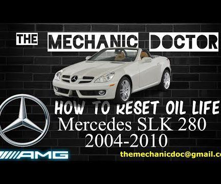 How to Reset Oil Life: Mercedes-Benz SLK 280 2004-2010 (R171)
