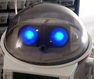 DIY Mod an Omnibot 80's Robot With Voice, Camera, Servos, Bluetooth