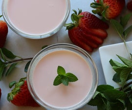 How to Make Strawberry Panna Cotta