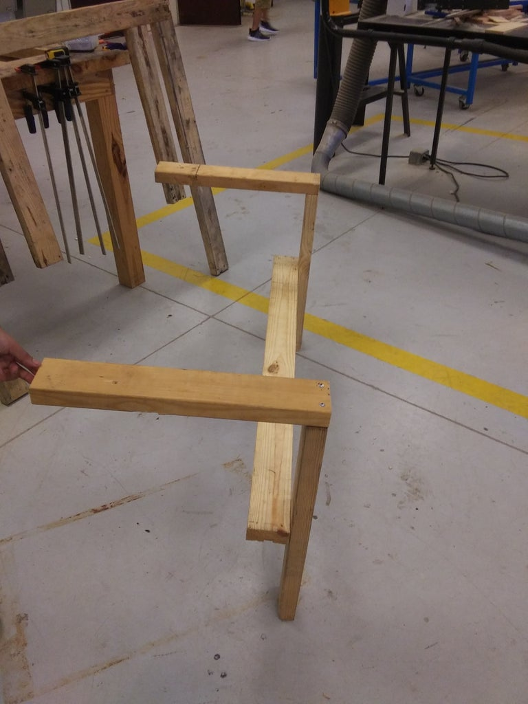 Step 3: Arm Frame
