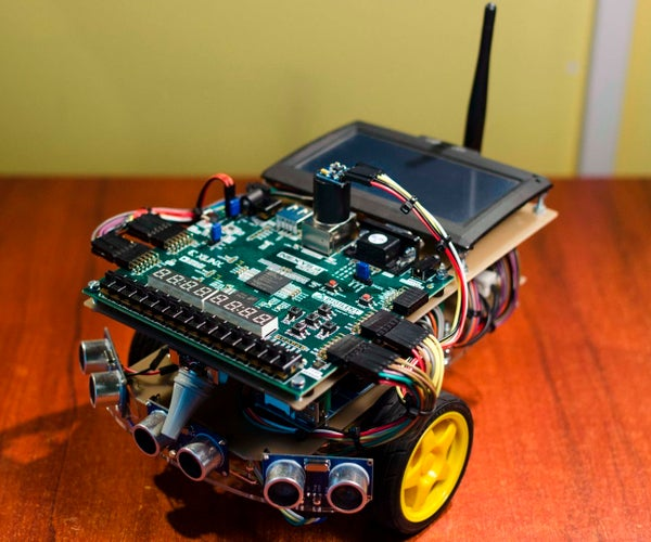 FPGA-powered Autonomous Search and Rescue Vehicles