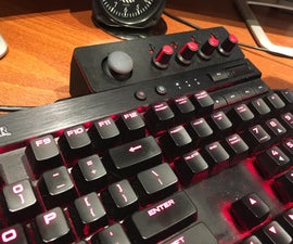 Arduino Keyboard Joystick Extender Box and Sound Controller Thing Using Deej