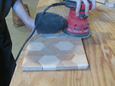Routing and Final Sanding