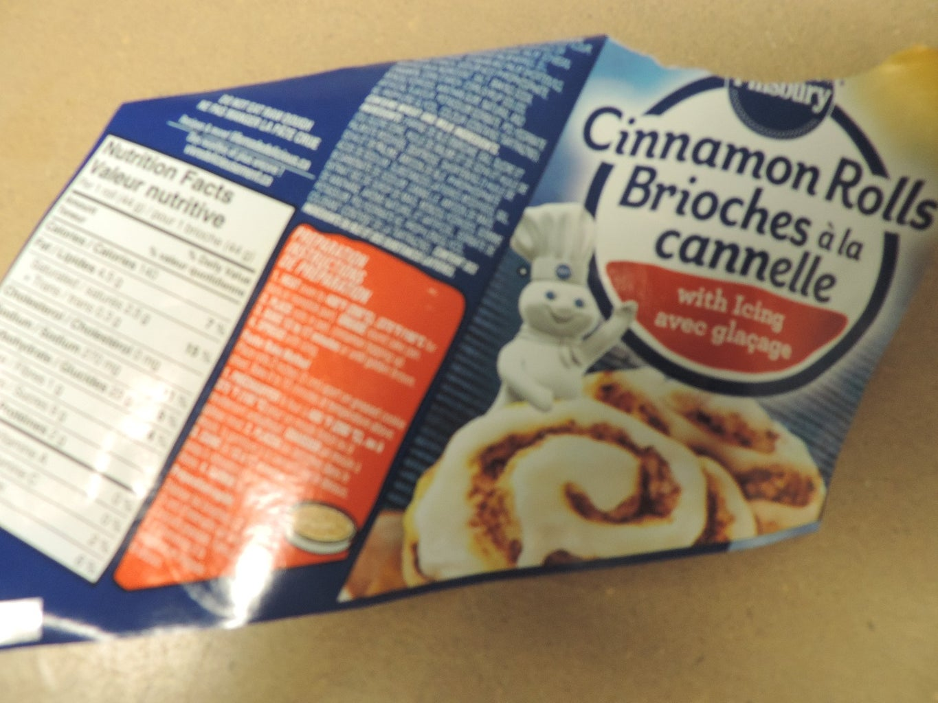 If You Are Craving a Quick Snack of the Cinnamon Bun Variety