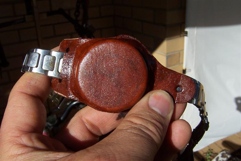 Leather Molding - Making a Watch Cover.