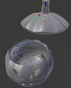 Modeling - Cutting the Lid