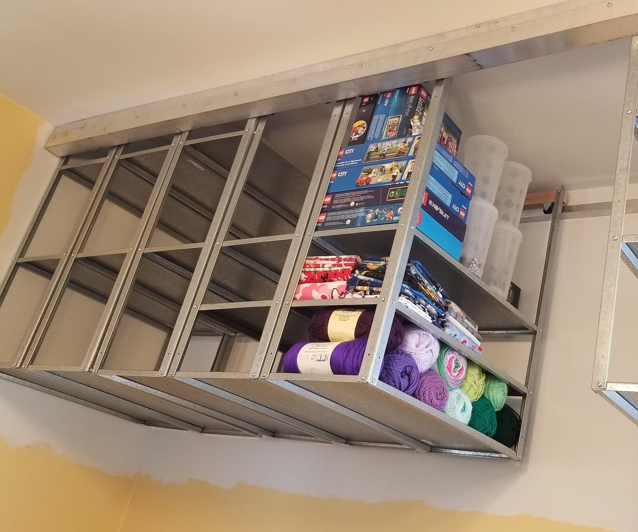 Hang-n-Roll Space-saver Shelving