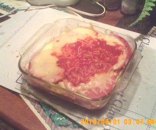 Batchelor Lasagna.