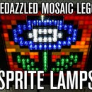 Bedazzled Mosaic LEGO Sprite Lamps
